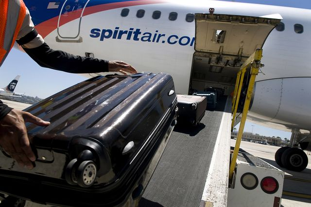 Spirit Airlines Inc.. Photographer: Sam Hodgson/Bloomberg
