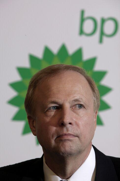 BP Plc CEO Robert Dudley