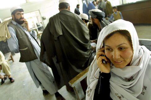 Afghan Women Target Market For Wireless Phones
