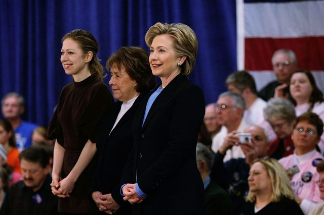 Family is cyclical. For the Clintons, so is politics. Photographer: Joe Raedle/Getty Images