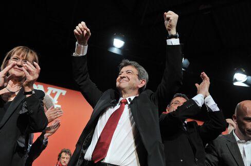 Front de Gauche Candidate Jean-Luc Melenchon