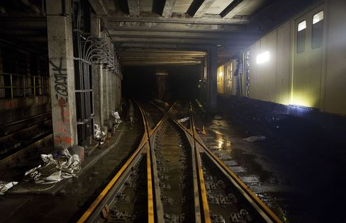 New York MTA Says Riders Won't Pay for $5 Billion Sandy Cleanup