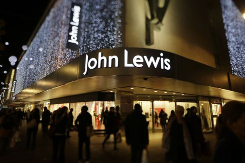 A John Lewis Plc Department Store Stands in London