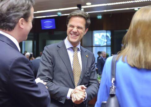 Netherlands's Prime Minister Mark Rutte
