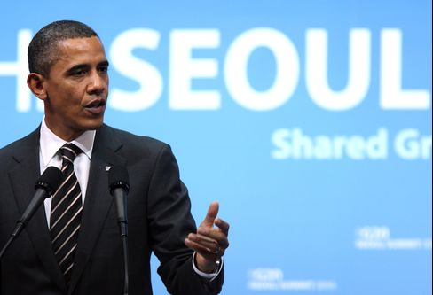 Obama Says Fed Easing Wasn't Aimed at Affecting Dollar