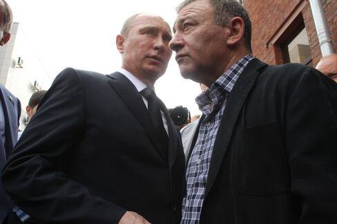 President Vladimir Putin and Arkady Rotenberg