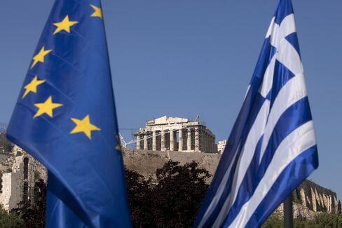 Greek Default Risk Returns as Bond Maturity Nears