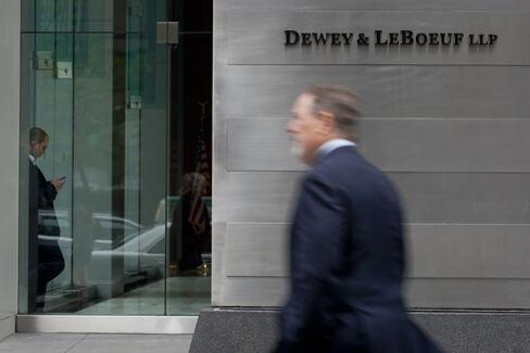 The Dewey & LeBoeuf LLP offices in New York. Photographer: Scott Eells/Bloomberg