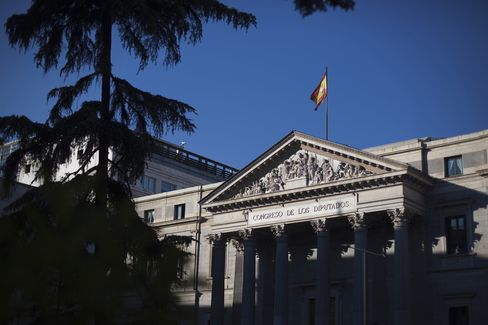 Spanish Bonds Risk Forced Selling as Debt Rating Approaches Junk