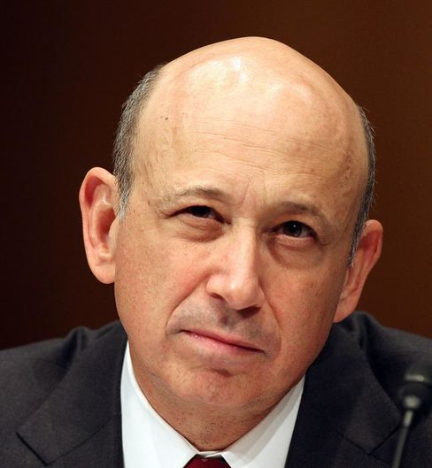 Goldman Sachs Chief Executive Officer Lloyd Blankfein. Photographer: Chris Kleponis/Bloomberg