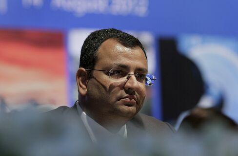 Tata Sons Chairman Cyrus Mistry
