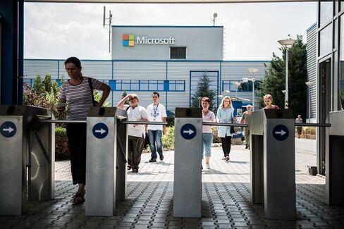 Microsoft Corp. Factory In Komarom