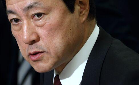 Mizuho Financial Group President Yasuhiro Sato