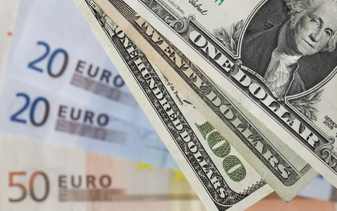 Dollar Trades Near Four-Month Low Versus Euro After Stocks Rally