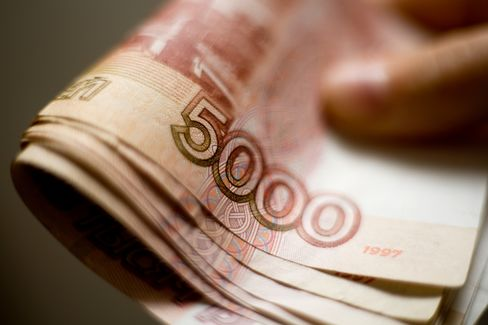 Bank Rossii 'Secret' Currency War Steadies Ruble