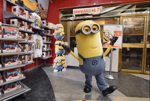 Universal's 'Despicable Me 2' Tops Theater Sales on Opening Day