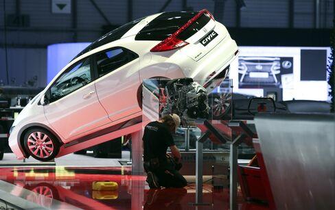 Honda Plots U.S. Civic Rebound Buoyed by Supply Abundance, Gasol