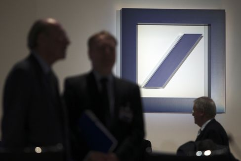 Deutsche Bank and HSBC Traders Probed for Libor Collusion