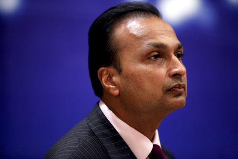 Reliance Communications Ltd. Chairman Anil Ambani