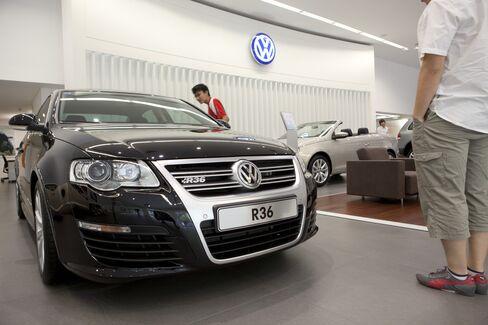 Volkswagen's 2011 China, Hong Kong Sales Rise 18% to Record