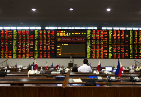 Philippine Stocks Enter Bear Market as Foreign Outflows Surge