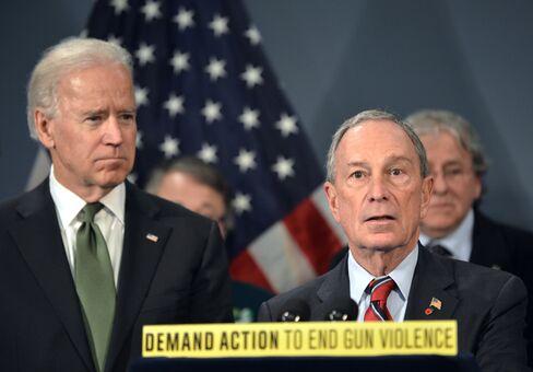 U.S. VP Joe Biden & NY Mayor Michael Bloomberg