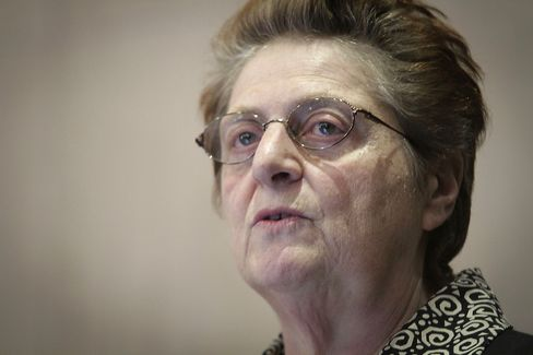 South African Reserve Bank Governor Gill Marcus