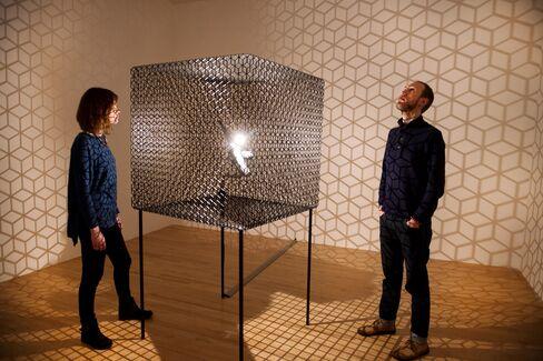 'Slow Arc inside a Cube IV'