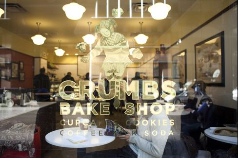 A Crumbs Cupcake Store