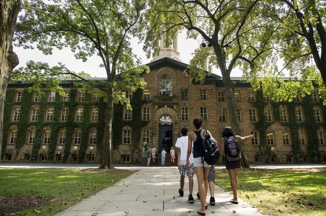Does borrowing to go to college or grad school make sense? It depends. Photographer: Craig Warga/Bloomberg