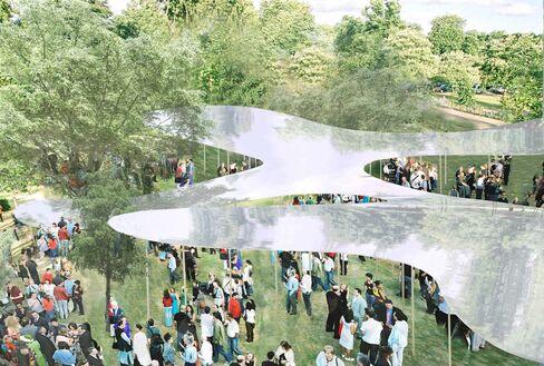 Serpentine Gallery's summer pavilion