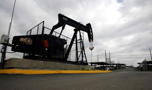 Oil Drops Below $80 to 8-Month Low on U.S. Supply, Europe Crisis