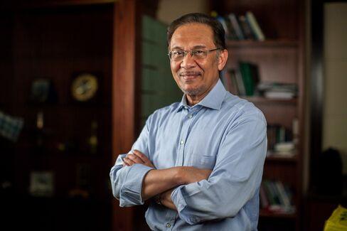 Malaysia's Opposition Leader Anwar Ibrahim