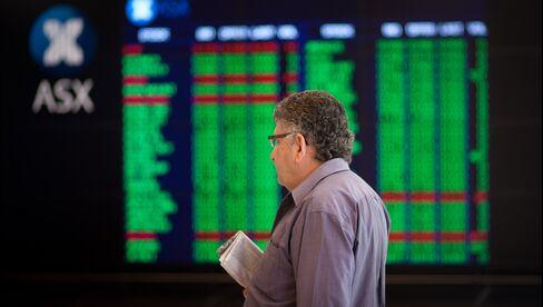Stock Board in Sydney