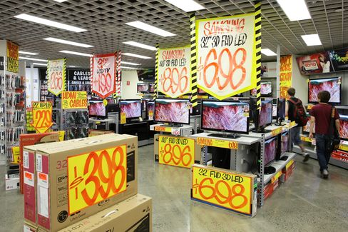 JB Hi-Fi Rises as Company Forecasts Sales Growth