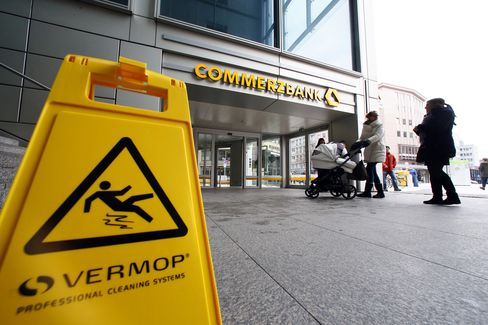 Commerzbank Downgraded by S&P on Concern Over Earnings
