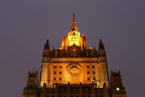 The Russian Ministry of Foreign Affairs Sits in Moscow