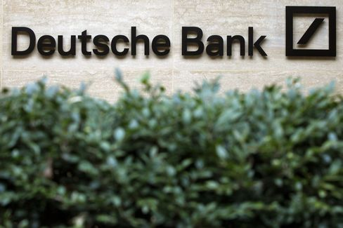 Deutsche Bank Said to Merge Debt Groups as Head Trader Departs