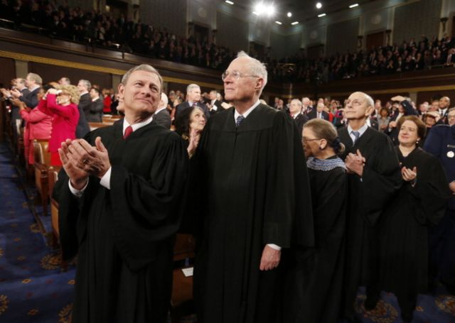 The Supreme Court shouldn't be above politics. Photographer: Larry Downing-Pool/Getty Images