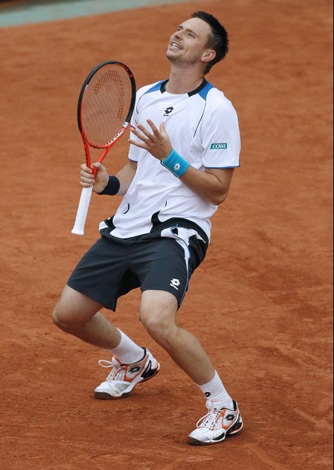 Robin Soderling of Sweden