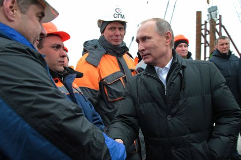 President Putin visits Russia's Crimean Federal District