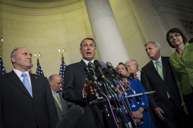 House Speaker John Boehner should know hismajority can't last forever.