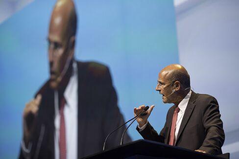 Alstom SA. CEO Patrick Kron