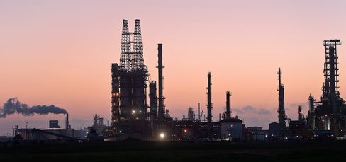 Crude Supply Rises in Survey as Production Gains