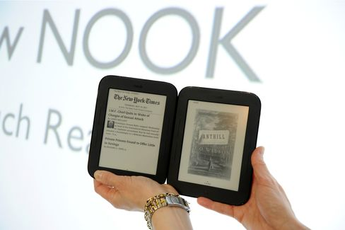 Barnes & Noble Unveils New Touchscreen Nook