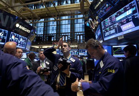 U.S. Stocks Erase Gains as Syria Concern Overshadows Jobs Data