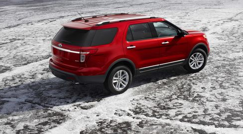 The 2011 Ford Explorer