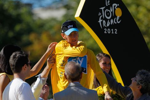 Wiggins Becomes First British Champion of Tour de France