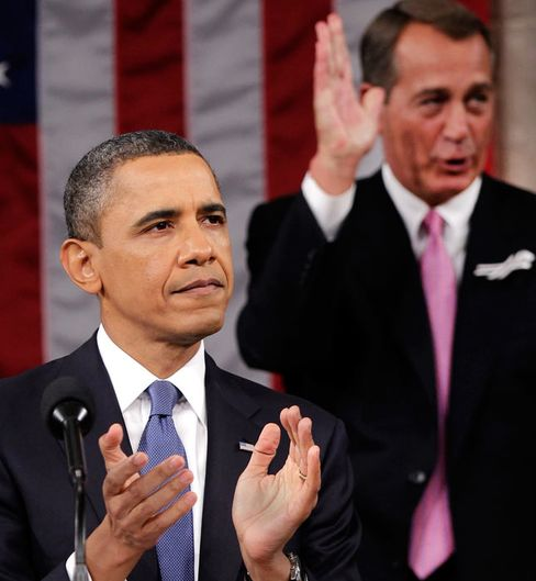 U.S. President Obama Delivers State of Union Address