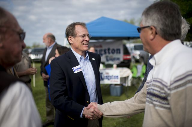 Georgia's Jack Kingston: still in the running. Photographer: Bill Clark/CQ Roll Call via Getty Images